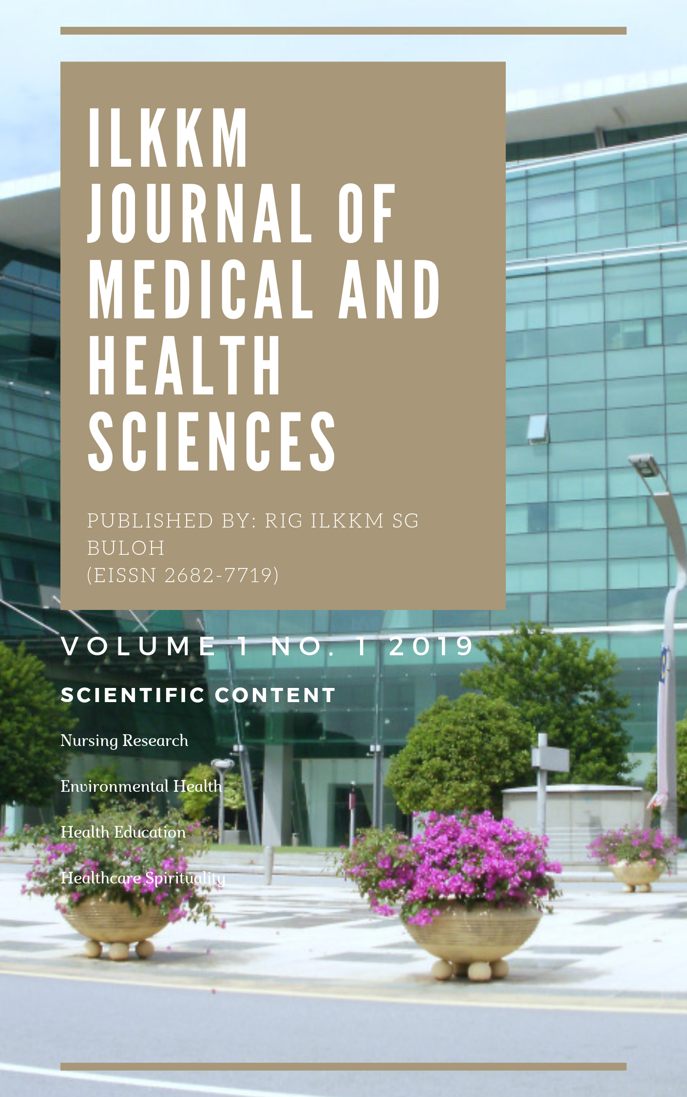 ilkkm journal medical health sciences volume no 1