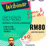 statistical data analysis webinar using spss for inferential and regression