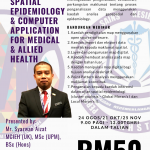Geospatial epidemiology for medical and allied health professional